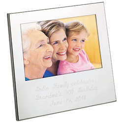 Engraved Silhouette Photo Frame