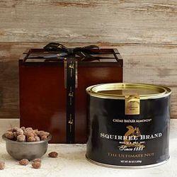 Creme Brulee Almonds Gift Tin