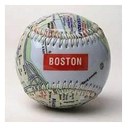 Boston Map Baseball