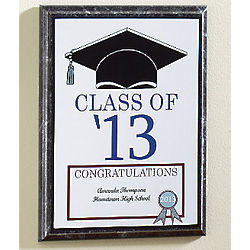Personalized Graduation Cap Plaque