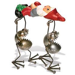 Gnomebearers Scrap Metal Sculpture