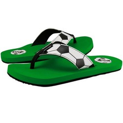Futbol Gooaall Green Sandals