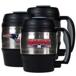 NFL Mini Keg with Built-In Bottle Opener