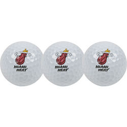 Miami Heat 3 Golf Balls