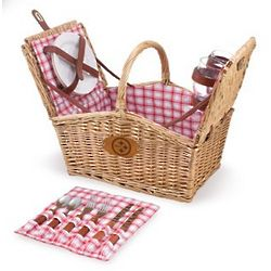 Pittsburgh Steelers Piccadilly Willow Picnic Basket