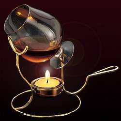 Copper Brandy Snifter and Warmer