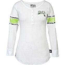 Dale Earnhardt Jr. Lady's Varsity Longsleeve T-Shirt