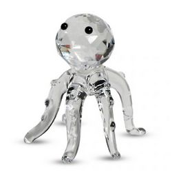 Crystal Octopus Figurine
