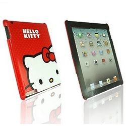 iPad Hello Kitty Red Back Cover
