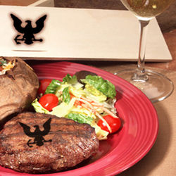 Navy Emblem Steak Brand Gift Box Set