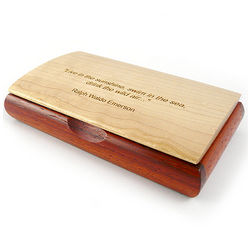 Inspiration Box with Ralph Waldo Emerson Quote