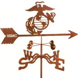 USMC Marine Logo Weathervane
