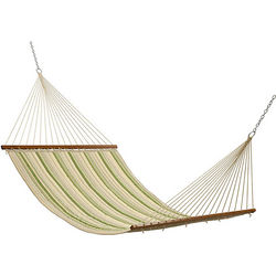 Quilted Double Hammock with Reversible Design