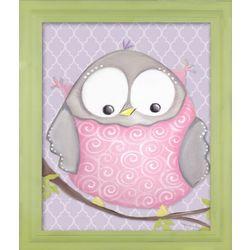 Octavia Owl Framed Art Print