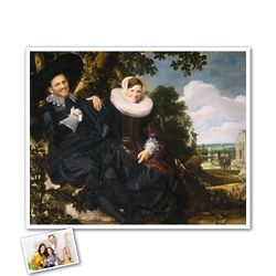 Wedding Couple Custom Portrait Masterpiece Print