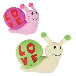 Valentine Love Snail Plush Stuffed Animals