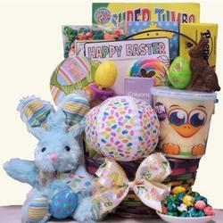 Hoppin' Easter Fun Easter Basket for Boy