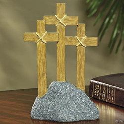 Three Cross Easter Tabletopper