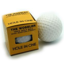 The Wobbler Golf Ball