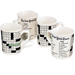New York Times Crossword Mugs