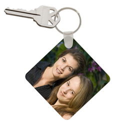 Mothers Day Photo Keychain
