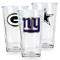 NFL Team Logo Pint Glass