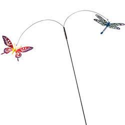 Flying Garden Stake