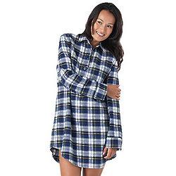 Tartan Plaid Sleepshirt