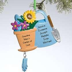 Personalized Gardener Ornament