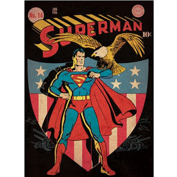 Superman Comic Book Cover Wall Decal