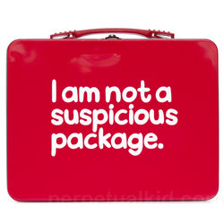 Suspicious Package Lunch Box