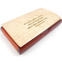 Inspiration Box with Teacher Quote