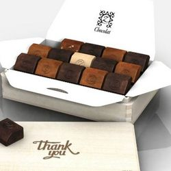 Thank You Sunrise French Chocolates Gift Box