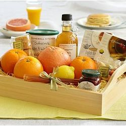 Sunday Brunch Gift Tray with Personalized Ribbon