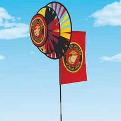 Marines Military Wind Spinner
