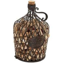 Vintage Wine Jug Cork Cage