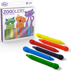 Zoodlers Cat Paw Crayons
