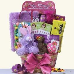 Egg-Streme Glamour Girl Easter Gift Basket