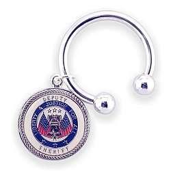 Engraved Deputy Sheriff Key Chain
