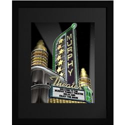 Personalized Deco Theater Framed Print