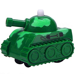 Never Fall Armored Tank Wind-Up Toy