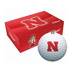 Nebraska Cornhuskers Collegiate Golf Balls