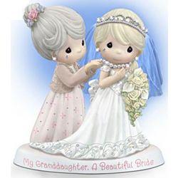 Precious Moments Granddaughter Bride Figurine