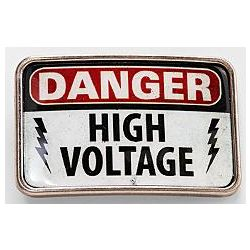 High Voltage Belt Buckle