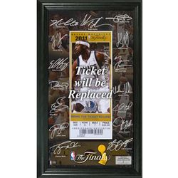 Miami Heat 2012 NBA Finals Signature Ticket