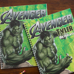 Personalized Avengers Notebooks