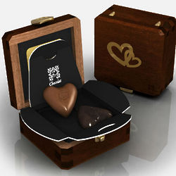 Just the Two of Us Romantic Opal French Chocolates Gift Box