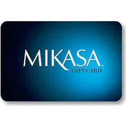 Mikasa 50 Dollar Gift Card