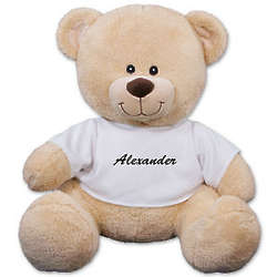 "17"" Personalized Any Name Teddy Bear"