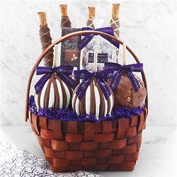 Classic Signature Caramel Apple Gift Basket